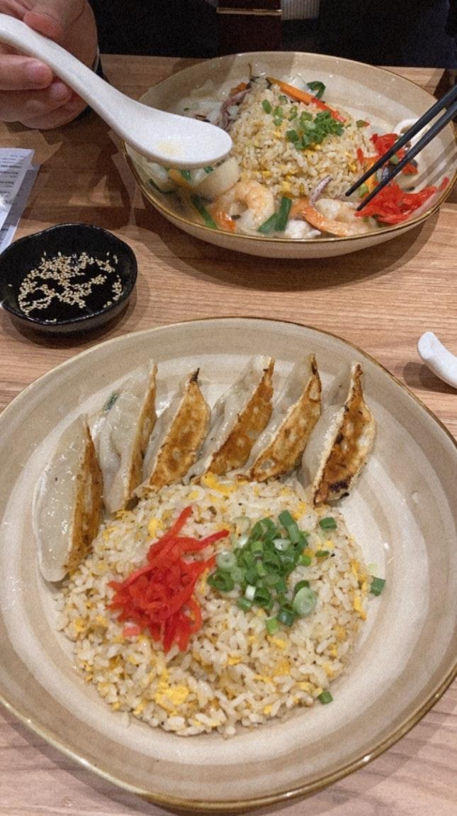 Gyoza Fried Rice