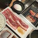 Karubi Set + Sukiyaki Karubi ($15.70)