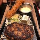 Hamburg Steak With Semi Buffet