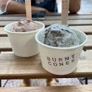 Sesame And Bacio Ice Cream