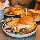 truffle chicken burger ($26) 🍔