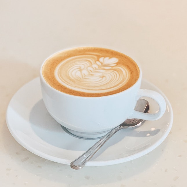 oat cappuccino ($6.4)