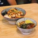 pork katsu don ($14.9) and mini unagi don (9.9)