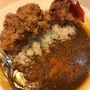 Chicken Karaage curry Rice