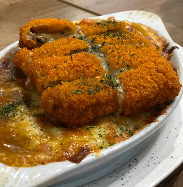 Curry Baked Rice
