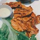 Truffle Pork Chops