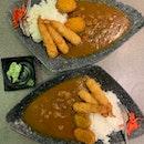 1-for-1 Ebi Fry & Pumpkin Croquette Curry