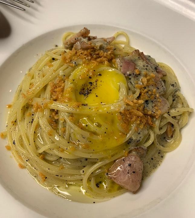 Truffle Mushroom Pasta @Mad Garlic!