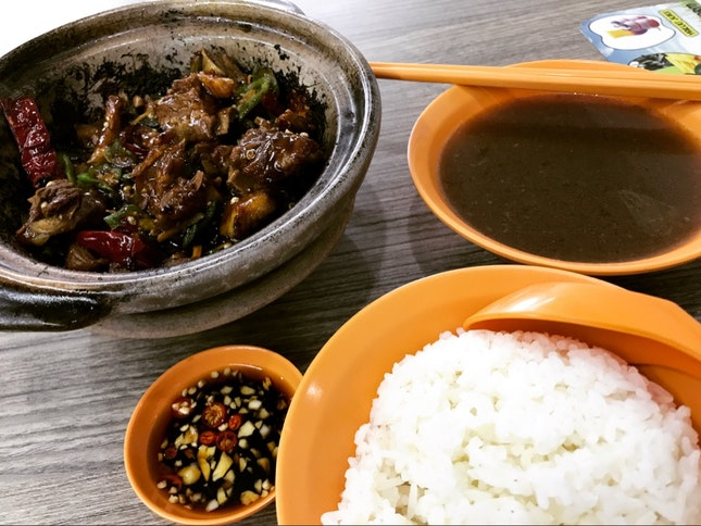 Dry Bak Kut Teh [$6]