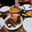 Turkish & Lebanese Food ($16/pax)