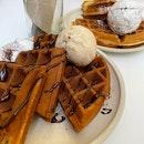 Churro & Maple Waffles