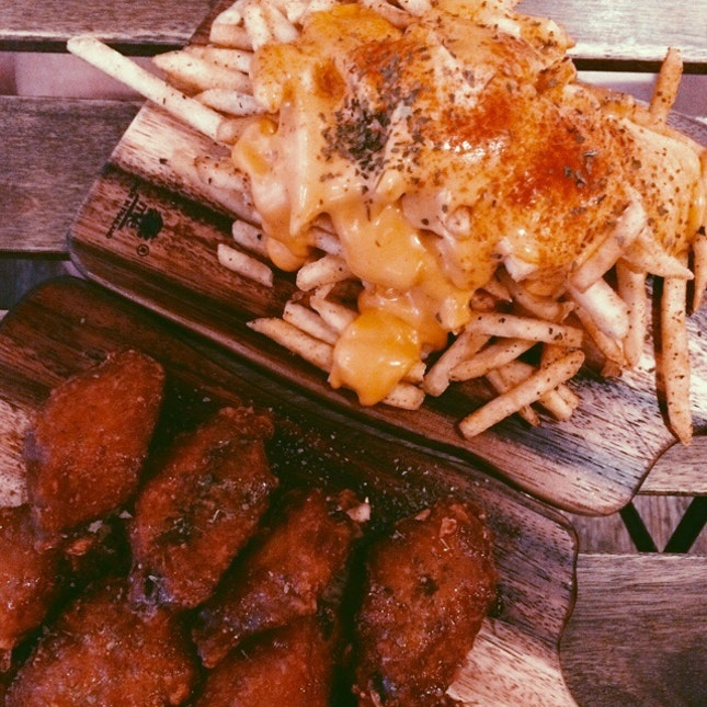 Fries And Wings
