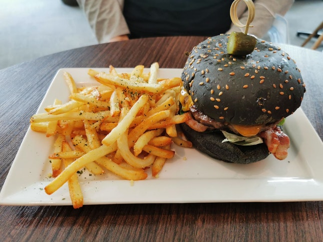 Charcoal Classic Cheeseburger