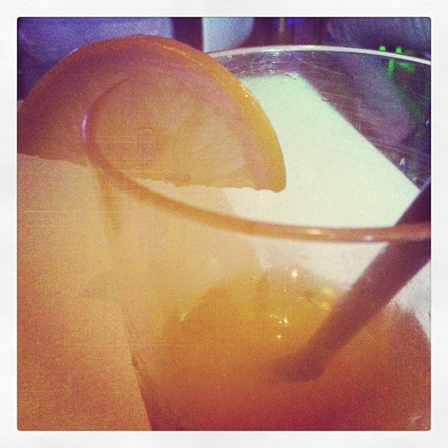 #fruit #punch #MIDE #2013 — #dinner #chill #time #buddies