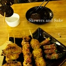 Skewers And Sake!