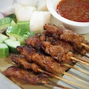 =Chicken Satay=  The meat was flavourful n succulent, surprisingly good!