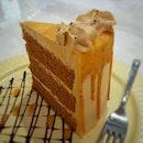 🍰Thai Milk Tea Cake 🍴 🍴Oh My Cafe @ Westgate 🍴 #singaporefood #sgfood #sgeats #instafood #instafoodsg #foodsg #foodpornsg #dessert #cake  #exploresingaporeeats #exsgcafes #burpple #exploresingapore #singaporeinsiders #sgcafe #cafesg #sgcafes #sgigfoodies #sgfoodies #foodshare
