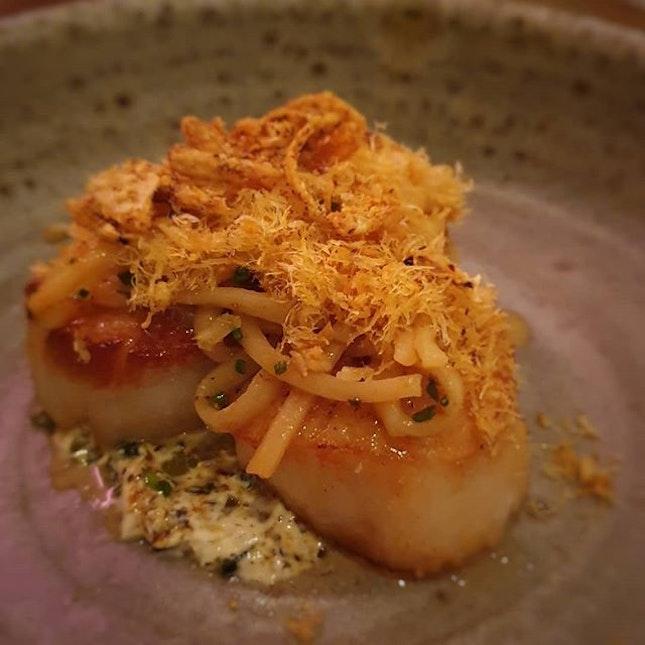 Salted & Hung @ 12 Purvis Street 🍴 🍴Scallops 🍴Fremantle Octopus 🍴Pork Belly - Pea, Onion & Crackling 🍴Grouper 🍴9+ Wagyu Short Rib 🍴Pork Collar 🍴Roasted Cabbage - Bonito Butter 🍴Baby Carrots - Walnuts & Pickles 🍴 🥄Dessert: 🥄Pavlova🥄Mascarpone 🍴 #singaporefood #sgfood #sgeats #instafood #instafoodsg #sgfoodsg #sgfoodlover #whattoeat #whattoeatinsg #foodsg #exploresingaporeeats #exsgcafes #burpple #burpplesg #exploresingapore #singaporeinsiders #sgigfoodies #sgfoodies #foodlist #dinner