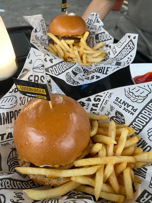 1-1 BURPLE Cheeseburger Deal