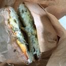Jalapeño Cheese Bagel with Scallion CC $6+