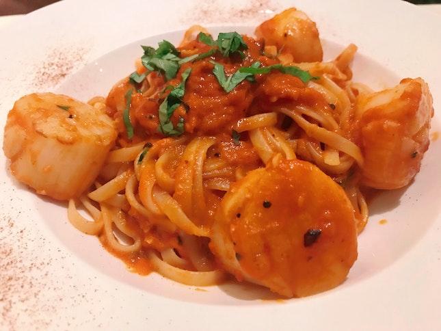 Tangy Seafood Marina Pasta
