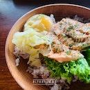 Salmon Mentaiko + Salmon Soup
