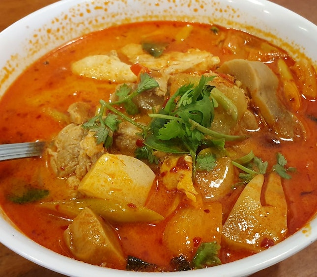 Red Tom Yam Soup