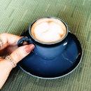 Latte on a Sunday morning.