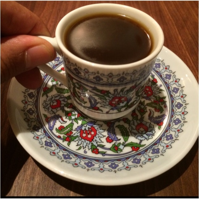 Turkish Coffee @ Ottoman Kebab