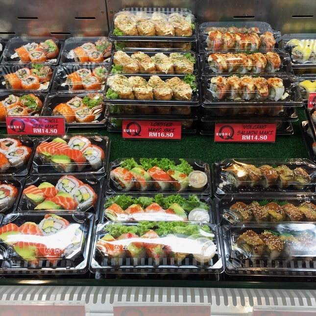 For Tempting Takeaway Sushi