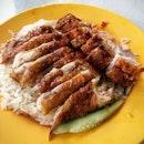 Xiang Ji Roast Chicken and Sio Bak.