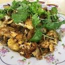 Fried Oyster Omelette aka Orh Luak.