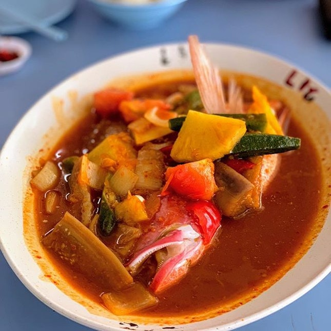 Asam Fish Head Curry.
