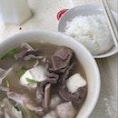 hearty pig organ soup (~$7/pax)