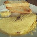 This morning's omelette #latergram
