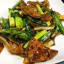 Stir fried Pork Liver _ Love the liver tenderness, the spring onions and ginger.