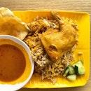 Chicken biryani  _ When white rice is not available.