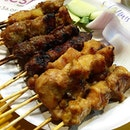 Satay at chomp chomp the other day.