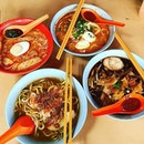 Where else can you find a bowl of laksa, lormee, prawn mee and mee reebus In town for $2.