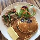 Grilled Chicken Savoury Pancake