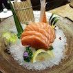 Salmon Sashimi ($10.00)