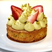 Pistachio Strawberry Tart (SGD 7.50)