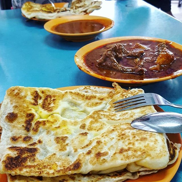 Back to the usual #prata place near my house.