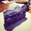 Blueberry Longan Cake