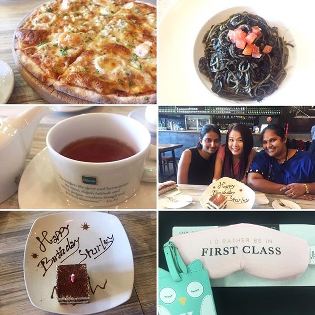 Had lunch with gratitude and dip myself with gratefulness & appreciation to the kindness and friendship they extended to me.