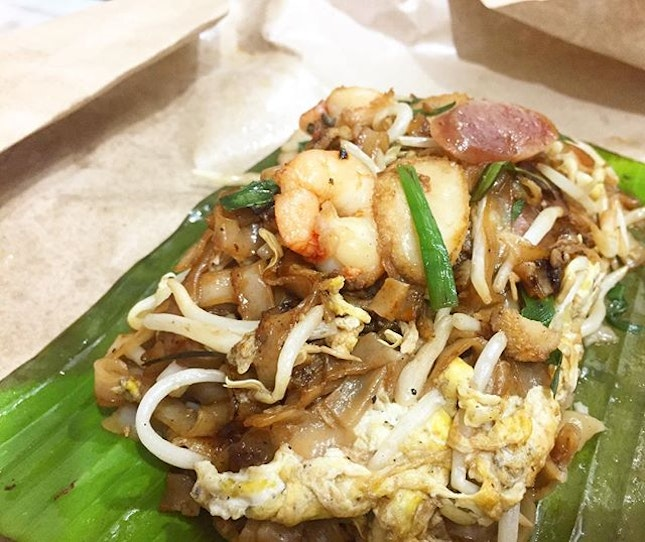 Top calories killer after a great yoga session in d morning: Char Kuey Teow.