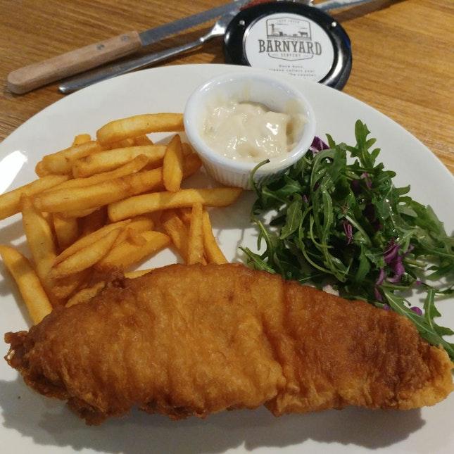 Barnyard Servery Fish&Chips