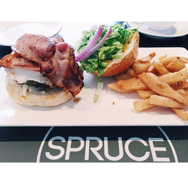 The Spruce Burger