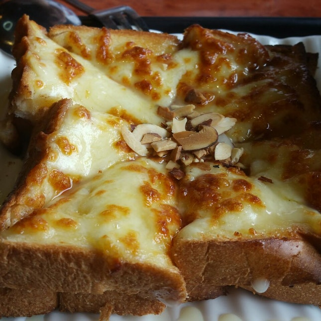 cheese injeolmi toast $9.90