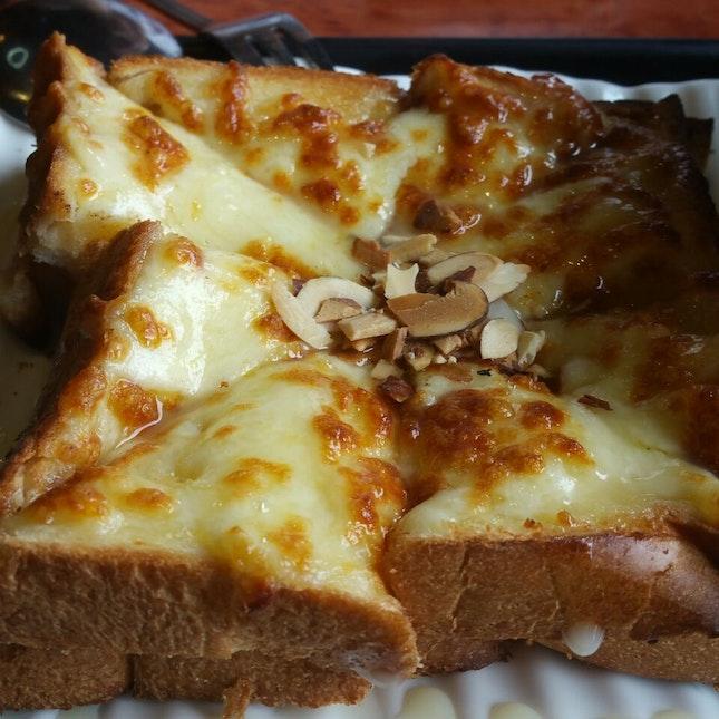 cheese injeolmi toast $9.90